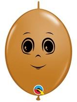 "Masculine Face Mocha Brown 6"" Quicklink Latex 50pk"