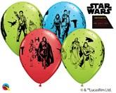 """Star Wars The Last Jedi 11"""" Latex Balloons 25pk"""