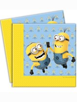 Lovely Minions Luncheon Napkins 20pk
