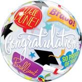 """Graduation Accolades 22"""" Bubble Balloon"""