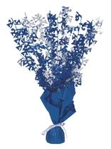 """Blue Birthday Glitz Age 21 Foil Balloon Weight Centrepiece 16.5"""""""