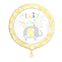 "Yellow Baby Elephant 18"" Foil Balloon"