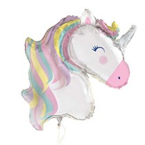 "Giant Unicorn Head 30"" Foil Balloon"
