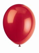 "12"" Cherry Red Latex Balloons - 50pk"