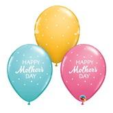 Mother's Day Polka Dot Latex 25pk