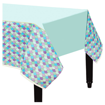 Mermaid Party Paper Tablecover 1.4 x 2.6M