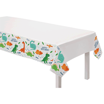 Dinosaur Party Plastic Tablecover