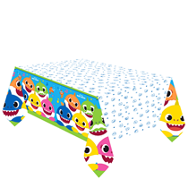 Baby Shark Party Paper Tablecover