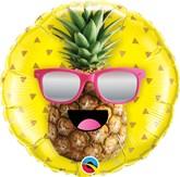 "Mr Cool Pineapple 18"" Foil Balloon"