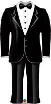 "Groom's Tuxedo Wedding 39"" Foil Balloon"