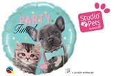 "Party Time Pets 18"" Foil Balloon"