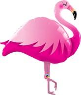 "Pink Flamingo 46"" Foil Balloon"