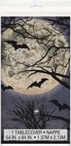 Halloween Spooky Night Plastic Tablecover