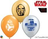 "Star Wars Droids 5"" Latex Balloons 100pk"