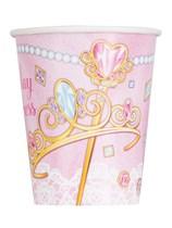 Pink Princess 9oz Paper Cups 8pk