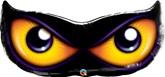 "Halloween Spooky Eyes 40"" Foil Balloon"
