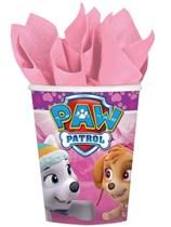 Paw Patrol Pink Paper Cups 8pk