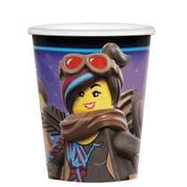 Lego Movie 266ml Paper Cups 8pk
