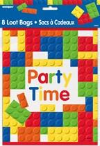 Building Blocks Party Bags 8pk