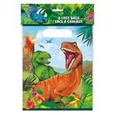 Dinosaur Party Bags 8pk