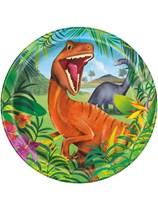 "Dinosaur 9"" Paper Plates 8pk"