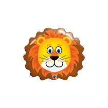 "Loveable Lion 14"" Air Fill Foil Balloon"
