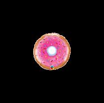 "Mini Pink Donut 9"" Foil Balloon"