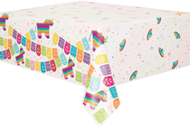 Mexican Fiesta Plastic Tablecover