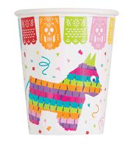 Festive Fiesta 9oz Paper Cups 12pk