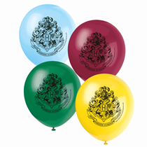 """Harry Potter Assorted Colour 12"""" Latex Balloons 8pk"""