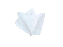 White Glitter Tissue Paper Sheets 5pk