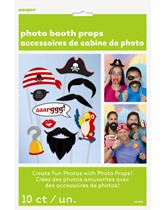 Pirate Party Photo Props 10pk