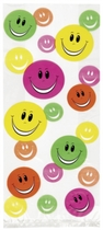 20 Happy Faces Cello Bags