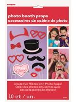 Valentine's Day Photo Props 10pk