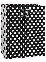 Black Dots Large Gift Bag