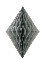 Silver Diamond Tissue Hanging Decoration