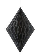 Black Diamond Tissue Hanging Decoration