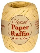 Natural Paper Raffia Balloon Ribbon 30m