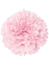 Lovely Pink Puffball Hanging Decoration