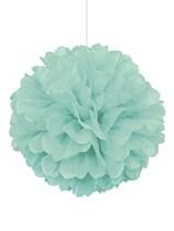 Mint Puffball Hanging Decoration