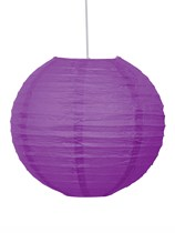 Pretty Purple Hanging Lantern Decoration