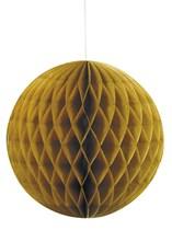 Gold Hanging Honeycomb Decoration