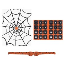 Halloween Pin The Spider On The Web Game
