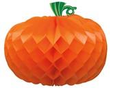 Halloween Pumpkin Honeycomb Decoration