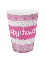 Baby Shower Pink Cups 8pk