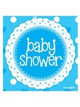 Baby Shower Blue Napkin 16pk