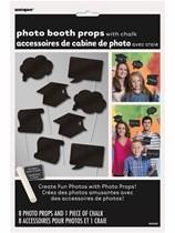 Graduation Chalkboard Photo Props 8pk
