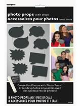 Chalkboard Photo Props 8pk