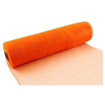 Eleganza Orange Deco Mesh 25cm x 9.1m (10yds)