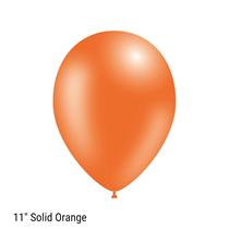 "Decotex Pro Solid Orange 11"" Latex Balloons 50pk"